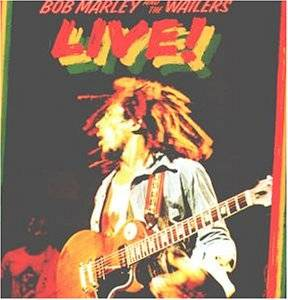 Bob Marley & The Wailers: Live! - Cover