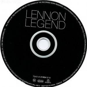 John Lennon: Lennon Legend: The Very Best Of John Lennon (CD) - Bild 3