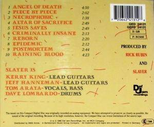 Slayer: Reign In Blood (CD) - Bild 2
