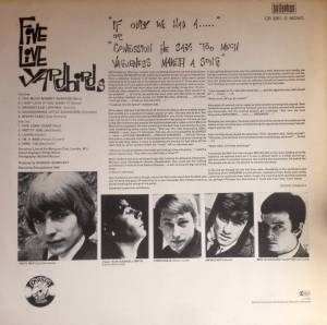 The Yardbirds: Five Live Yardbirds (LP) - Bild 3