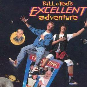 Bill & Ted's Excellent Adventure - Cover