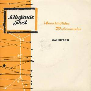 Cover - Manfred Schnelldorfer: Klingende Post II/1964