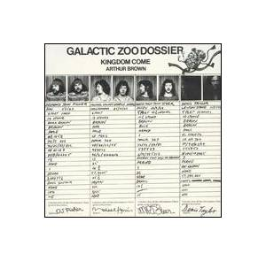 Arthur Brown's Kingdom Come: Galactic Zoo Dossier - Cover