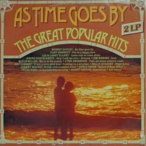 Cover - Robert Goulet: As Time Goes By - The Great Popular Hits