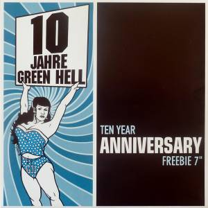 Cover - muff potter.: 10 Jahre Green Hell - Ten Year Anniversary Freebie 7""