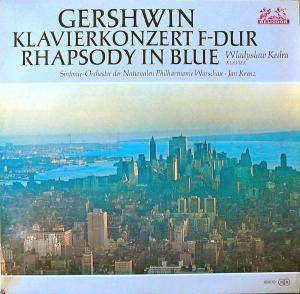 George Gershwin: Rhapsody In Blue / Concerto In F - Cover