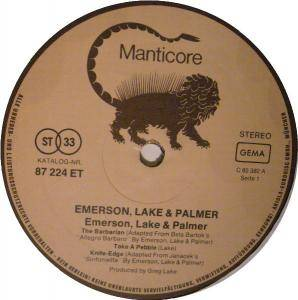 Emerson, Lake & Palmer: Emerson, Lake & Palmer (LP) - Bild 3