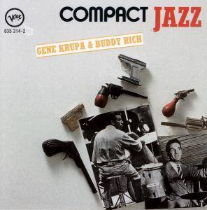 Gene Krupa & Buddy Rich: Compact Jazz - Cover