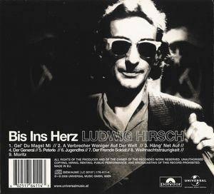 Ludwig Hirsch: Bis Ins Herz (CD) - Bild 2
