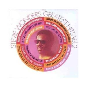 Stevie Wonder: Greatest Hits Vol. 2 - Cover