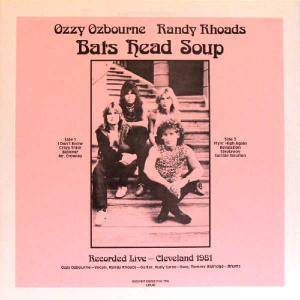Ozzy Osbourne: Bats Head Soup - Cover
