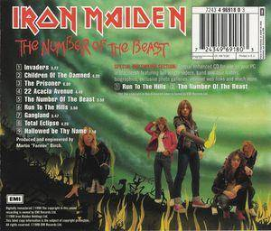 Iron Maiden: The Number Of The Beast (CD) - Bild 2