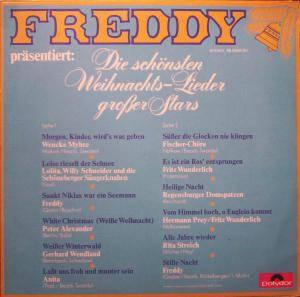Freddy Präsentiert Die Schönsten Weihnachtslieder Großer Stars.Freddy Präsentiert Die Schönsten Weihnachtslieder Großer Stars Lp