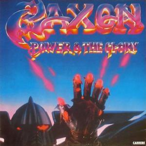 Saxon: Power & The Glory - Cover