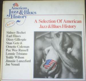 American Jazz & Blues History - Cover