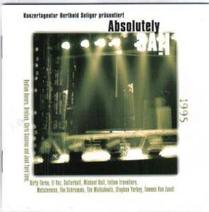 Cover - Chris Cacavas And Junk Yard Love: Absolutely Live 1995