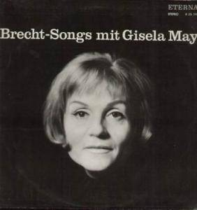 Cover - Gisela May: Brecht-Songs Mit Gisela May