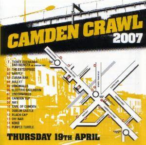 Cover - I Was A Cub Scout: Camden Crawl 2007