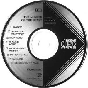 Iron Maiden: The Number Of The Beast (CD) - Bild 6