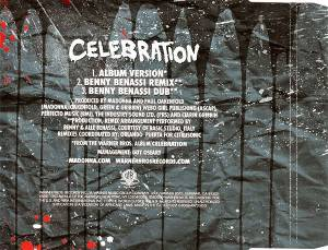 Madonna: Celebration (Single-CD) - Bild 2