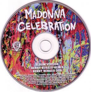 Madonna: Celebration (Single-CD) - Bild 3