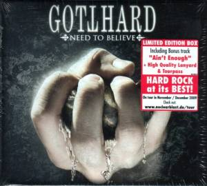 Gotthard: Need To Believe (CD) - Bild 2