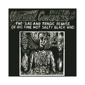Universal Congress Of: Sad And Tragic Demise Of Big Fine Hot Salty Black Wind, The - Cover