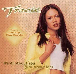 Cover - Tracie Spencer: It's All About You (Not About Me)