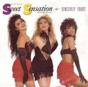Sweet Sensation: Sincerly Yours - Cover