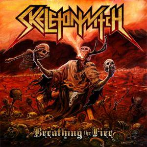 Cover - Skeletonwitch: Breathing The Fire