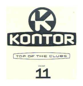 Cover - Kluster Feat. Ron Carroll: Kontor - Top Of The Clubs Vol. 11