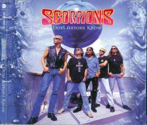 Scorpions: Does Anyone Know - Cover