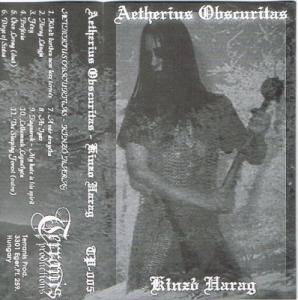 Cover - Aetherius Obscuritas: Kinzó Harag