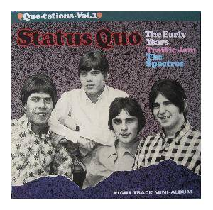 "Status Quo: ""Quotations"" Volume 1 - The Early Years - Cover"