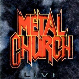 Metal Church: Live - Cover