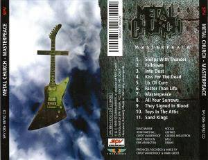Metal Church: Masterpeace (CD) - Bild 3