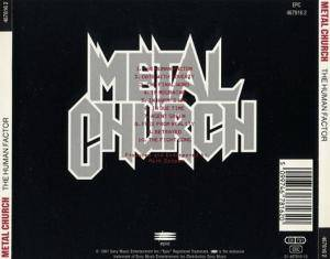 Metal Church: The Human Factor (CD) - Bild 2
