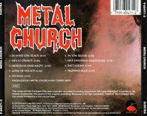 Metal Church: Metal Church (CD) - Bild 2