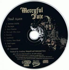 Mercyful Fate: Dead Again (CD) - Bild 3