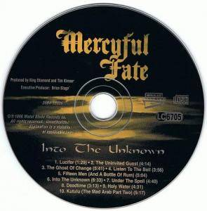 Mercyful Fate: Into The Unknown (CD) - Bild 3