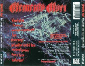 Memento Mori: Life, Death And Other Morbid Tales (CD) - Bild 2