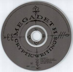 Megadeth: Cryptic Writings (HDCD) - Bild 3