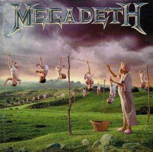 Megadeth: Youthanasia - Cover