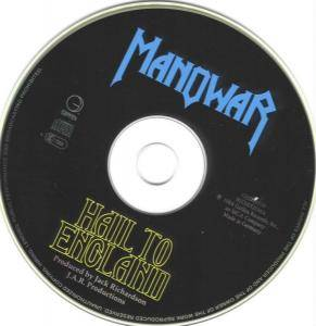 Manowar: Hail To England (CD) - Bild 5