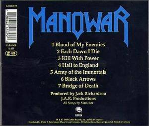 Manowar: Hail To England (CD) - Bild 9
