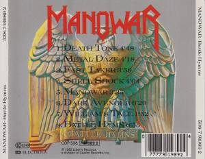 Manowar: Battle Hymns (CD) - Bild 3