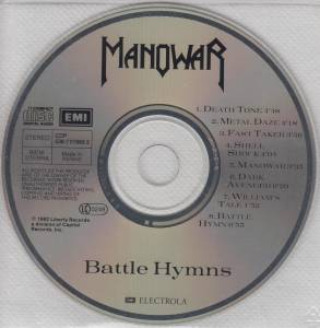 Manowar: Battle Hymns (CD) - Bild 4