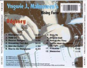 Yngwie J. Malmsteen's Rising Force: Odyssey (CD) - Bild 2