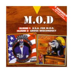 M.O.D.: U.S.A. For M.O.D. / Gross Misconduct - Cover