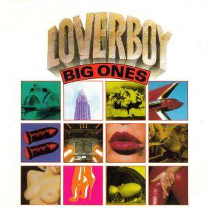 Loverboy: Big Ones - Cover